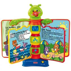 libro interactivo fisher price para niños