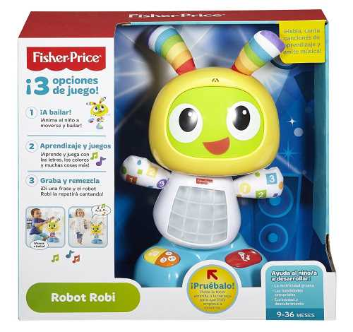 robot robi interactivo fisher price